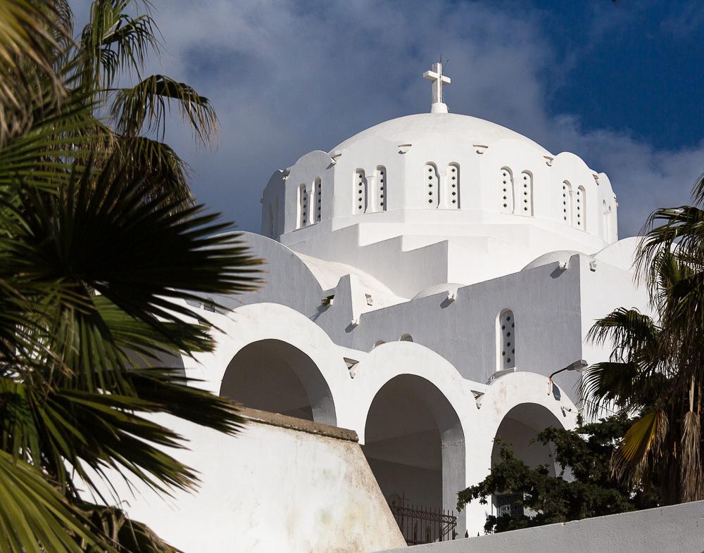 Orthodox Metropolitan Cathedral #1, Fira, Santorini Island