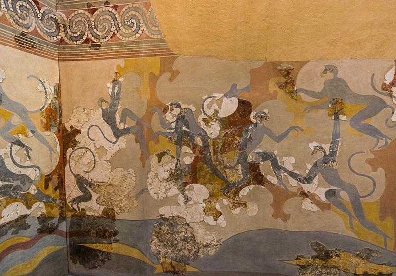 Mural, Thera Prehistoric Museum