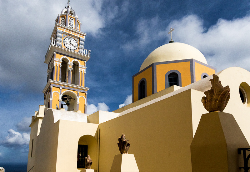 Saint John the Baptist Church,  Fira, Santorini Island