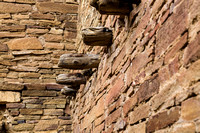 Floor support, Chaco Canyon, NM