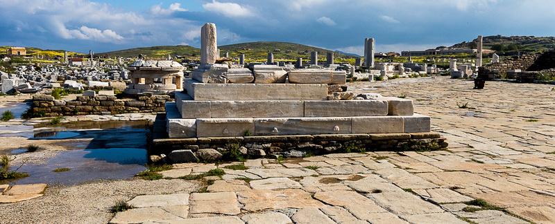 Delos Archeology Site #1, Greece
