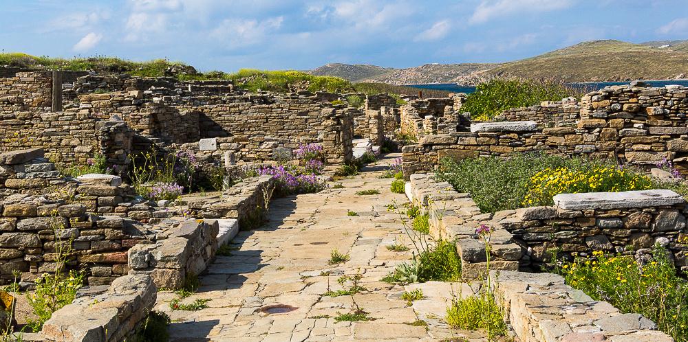 Delos Archeology Site #5, Greece