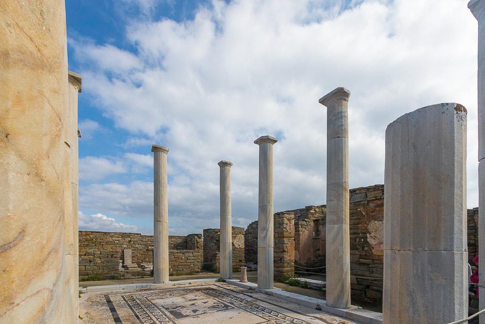 Delos Archeology Site #8, Greece