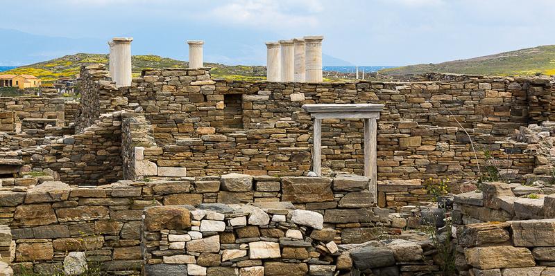 Delos Archeology Site #10, Greece