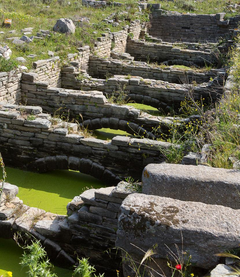 Delos Archeology Site #15, Greece