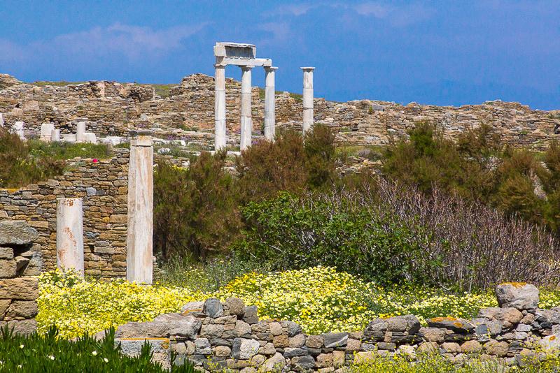 delos Archeology Site #21 Greece