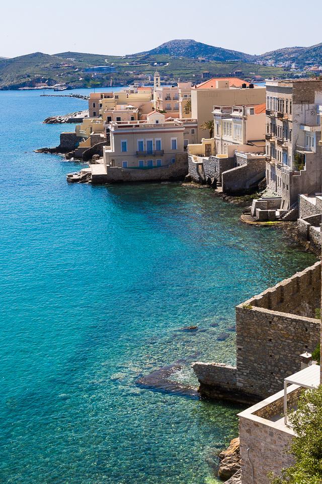 Ermoupoli waterfront #1