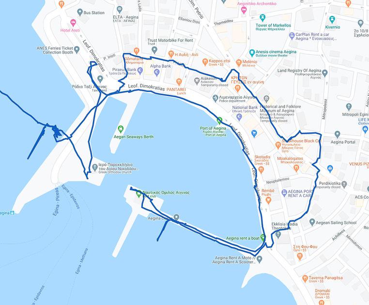 22 Map #07b Aegina