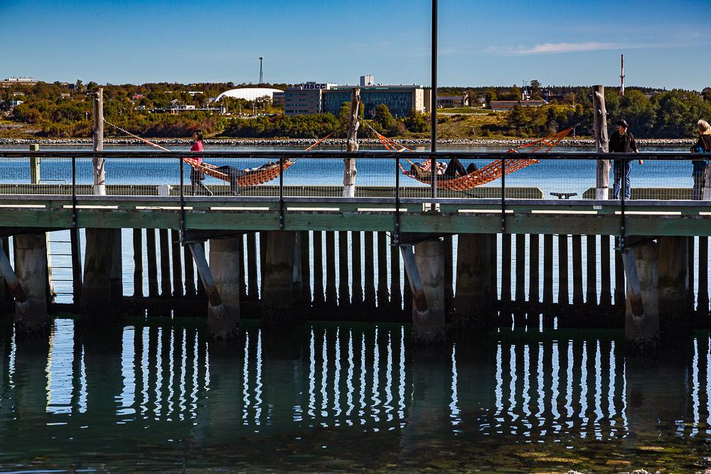 Hamocks on Harbourside Walk, Halifax