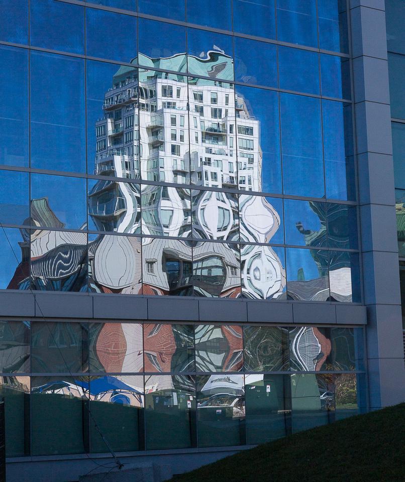 Halifax Building Reflection