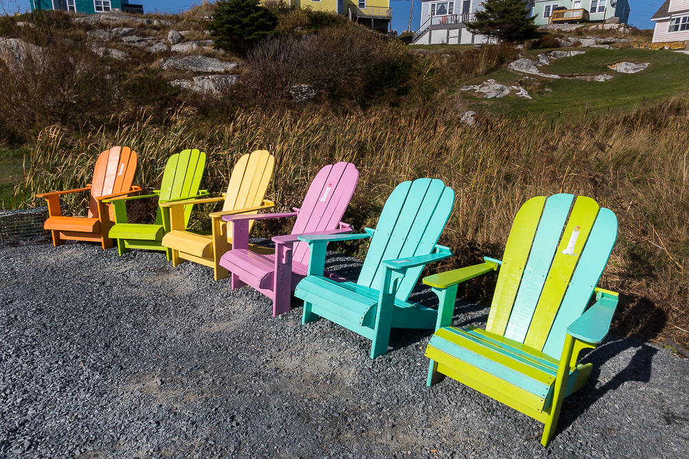 Peggys Cove Chairs (NS Canada)