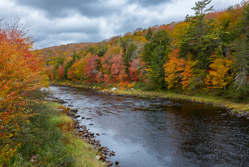 Fall on St. Mary's River (NS, Canada)