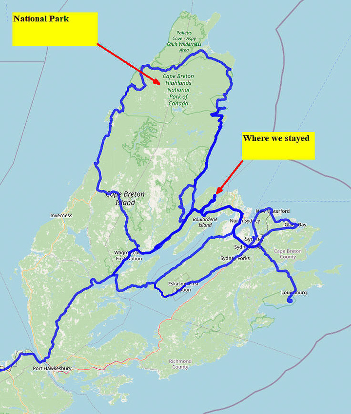 02 Map 07 - Cape Breton Route Map