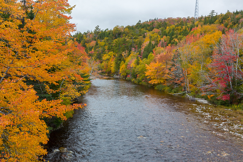 Barrachois River (Cape Breton Island, NS Canada)