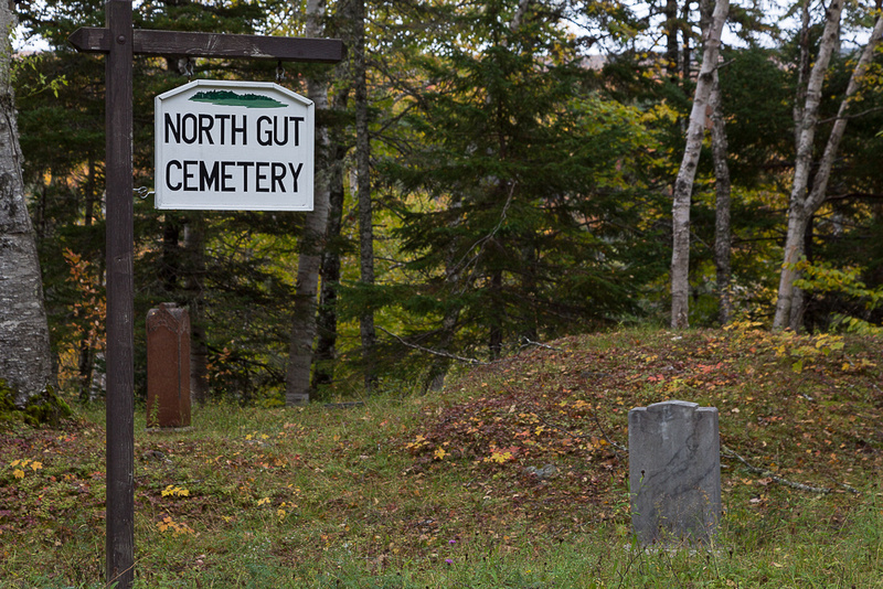 North Gut Cemetery (Cape Breton Island, NS Canada)