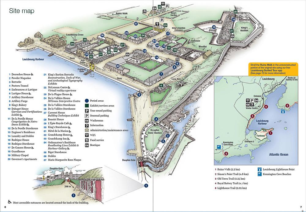 14 Map 09 - Louisbourg