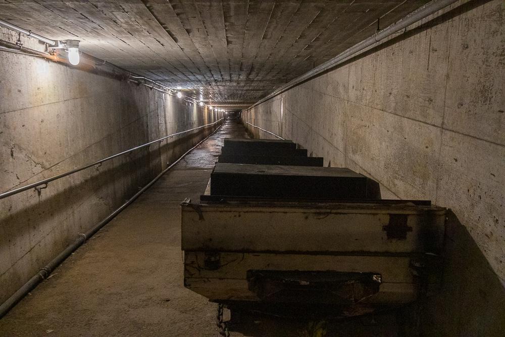 Entrance Tunnel, Glace Bay Miner's Museum (Cape Breton Island, NS Canada)
