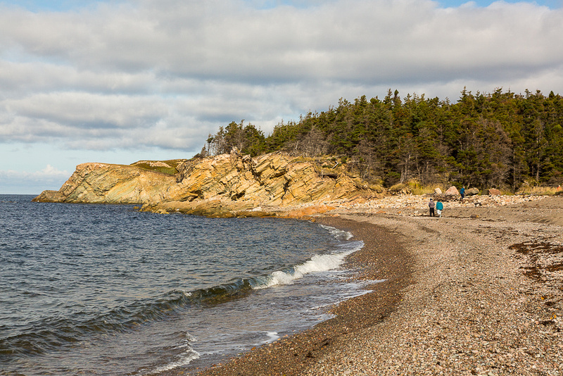 Pillar Rock Beach (Cape Breton Island, NS Canada)