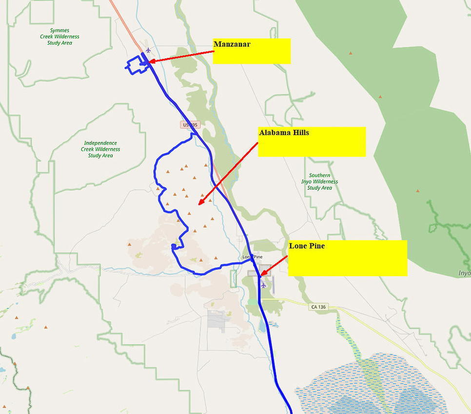 03 Map 2 - Lone Pine area