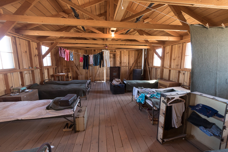Barracks, Manzanar Japaneese Internment Camp