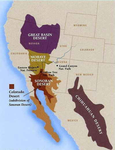 04 Map 5 - Western Deserts