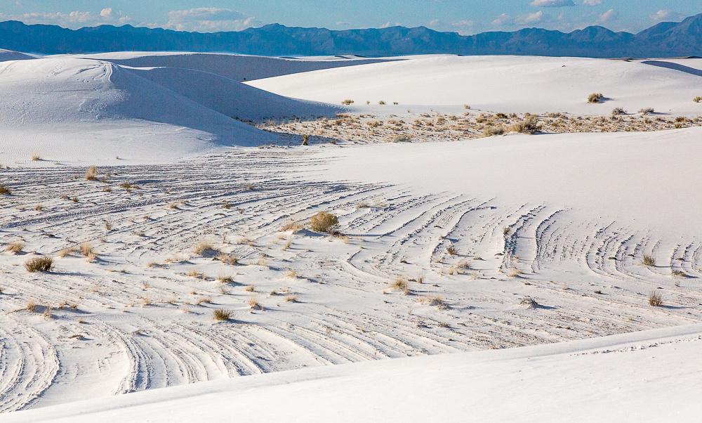 Gypsum sand dune #1
