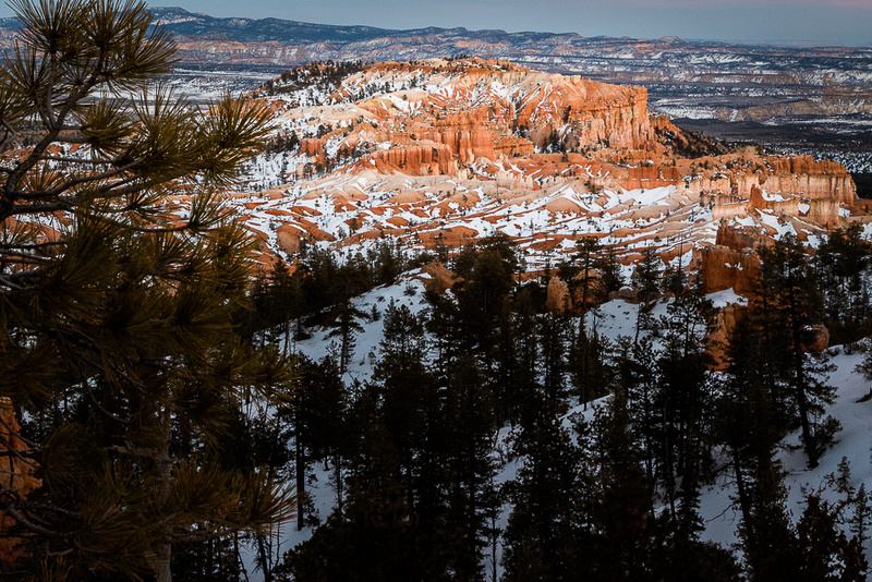Bryce canyon in late afternoon from Sunrise Point #1