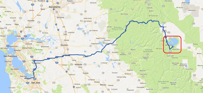 01 2016-09-21 Map #01 PA to Mono Lake