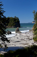 Above Ruby Beach