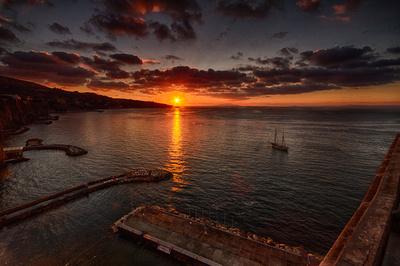Sorrento Sunset 1