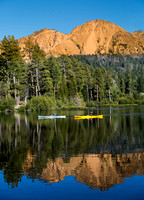 Lake Manzanita with Canoes - 01