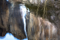 Yosemite Falls - Abstract Reflection