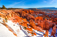 Bryce canyon in early morning from Sunset Point #4