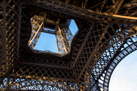 Eiffel Tower structural view
