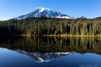 Mt. Rainier & Reflection Lake