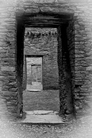 Four Doors, Chaco Canyon, NM