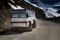 All-terrain Ice Explorer at Athabasca Glacier