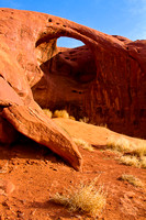 Moccasin Arch, Monument Valley