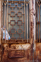 Rusty Door, Puerto Lapice, Spain