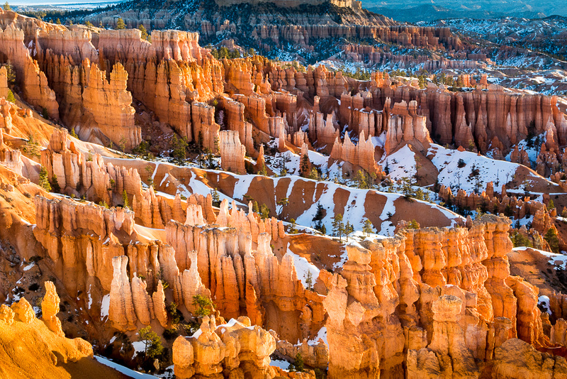 Bryce canyon in early morning from Sunset Point #2