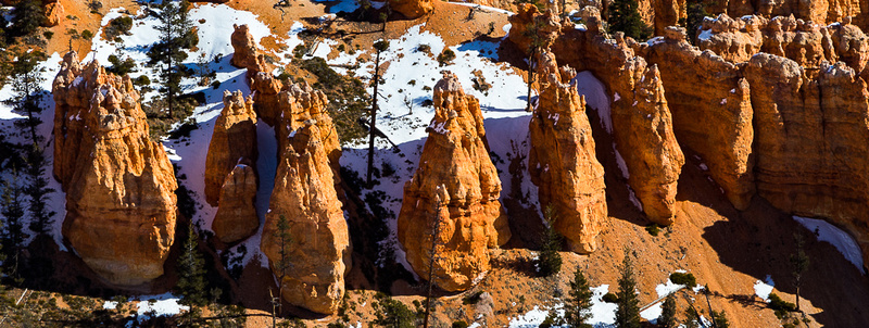 Bryce canyon, midday from Inspiration Point #2