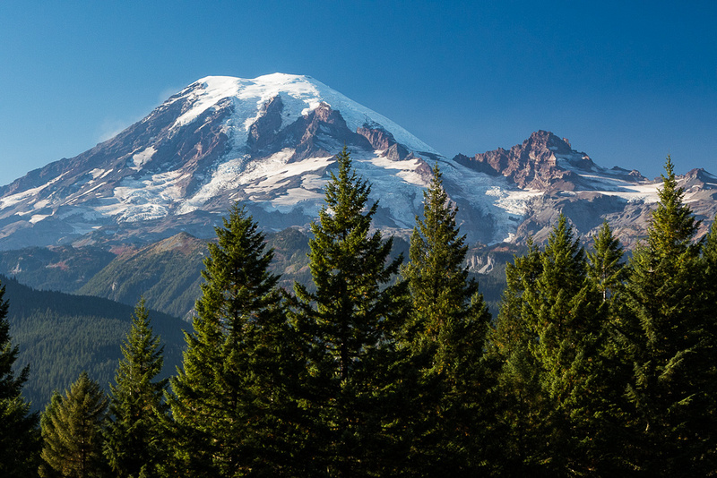 Mt. Rainier from Buckhorn Ridge