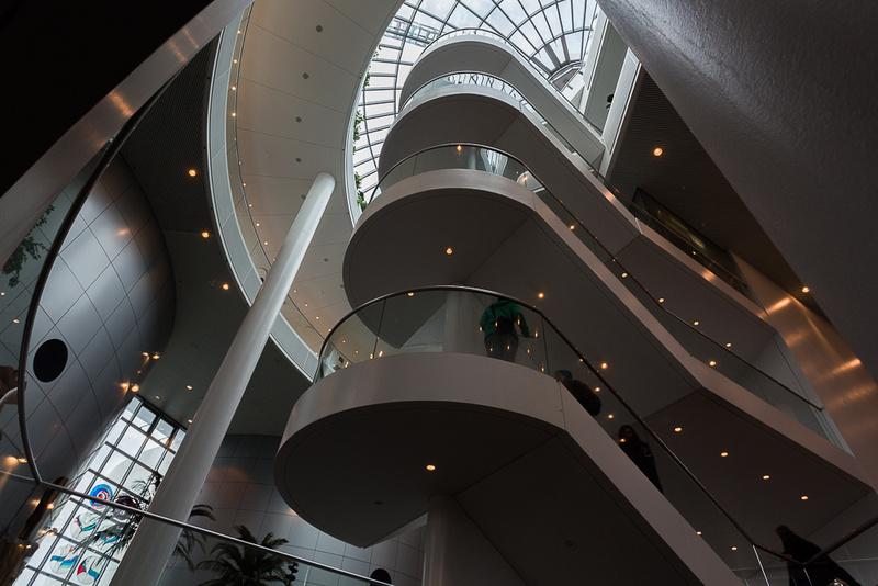 Main Stairway going up, The Perlan