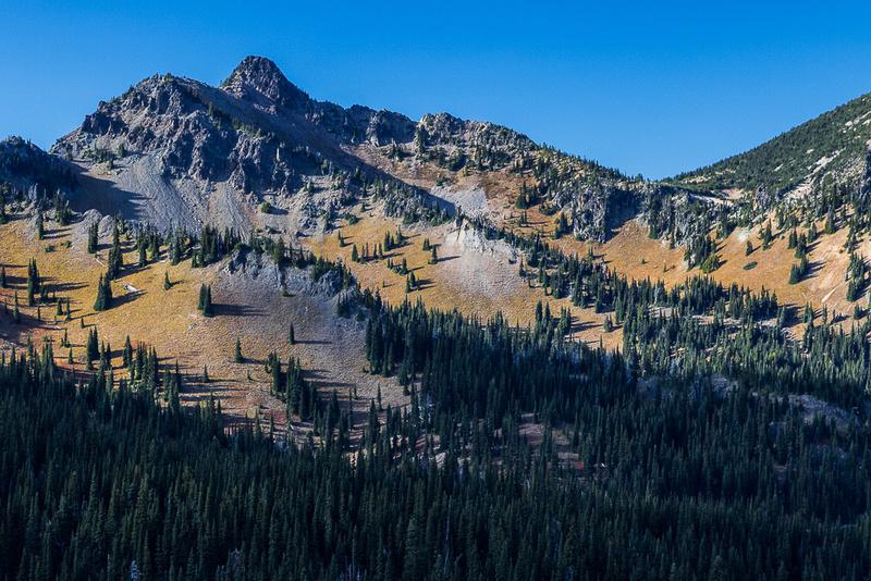 Marcus Peak from Sunrise Point