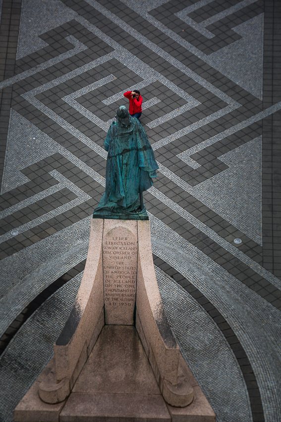 Leifur Eriksson Statue