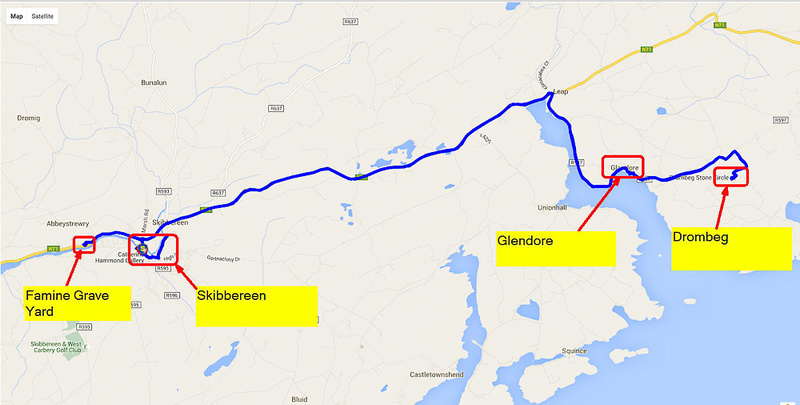 01 2016-06-07 Map Day 09 Skibbereen to Stone Circle_