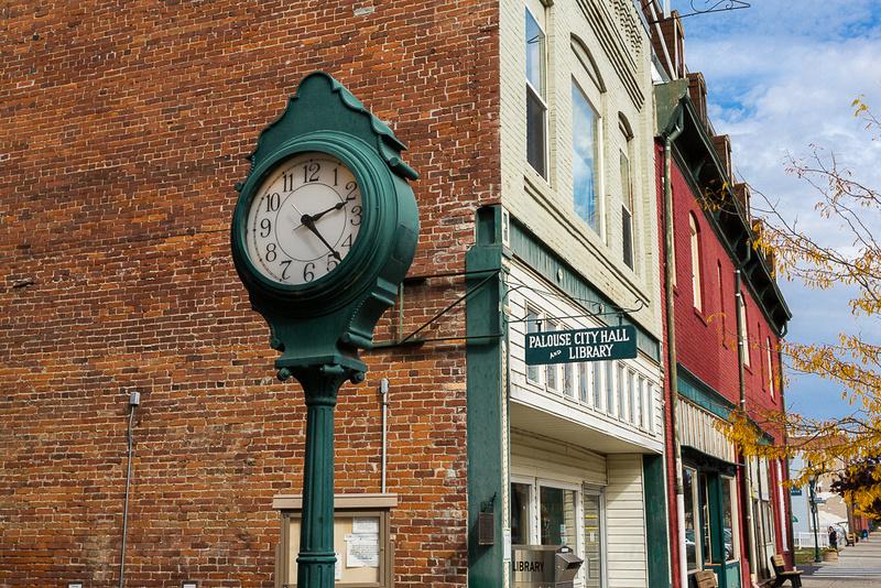 Palouse City Clock