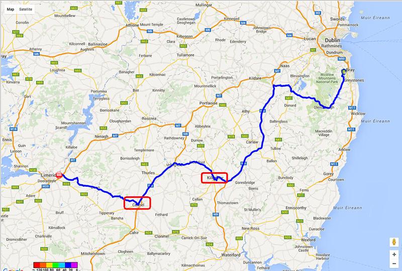 01 2016-06-02b Map Day 04b Kilkenny & Cashel