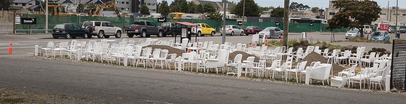 Christchurch Chair memorial