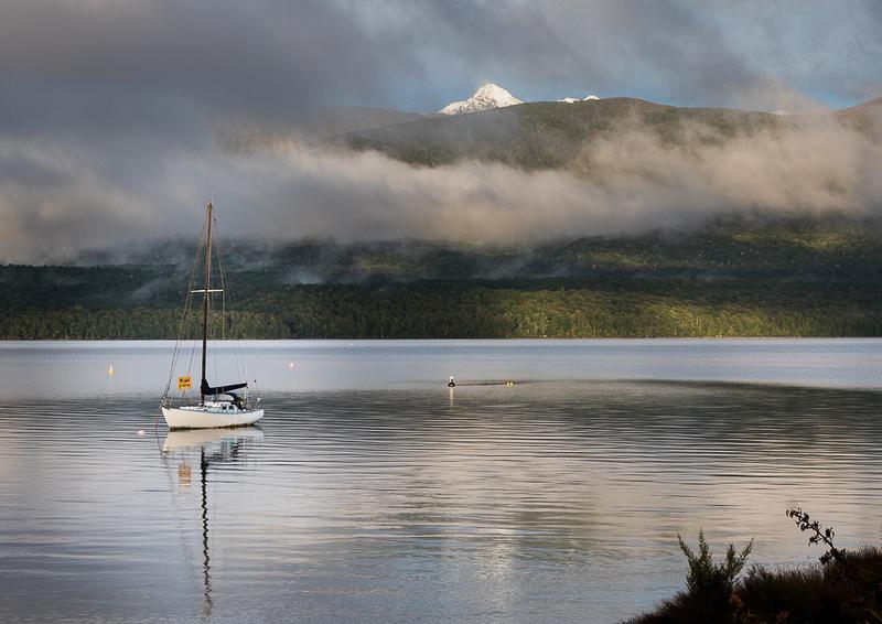 Cloudbnak and Boat